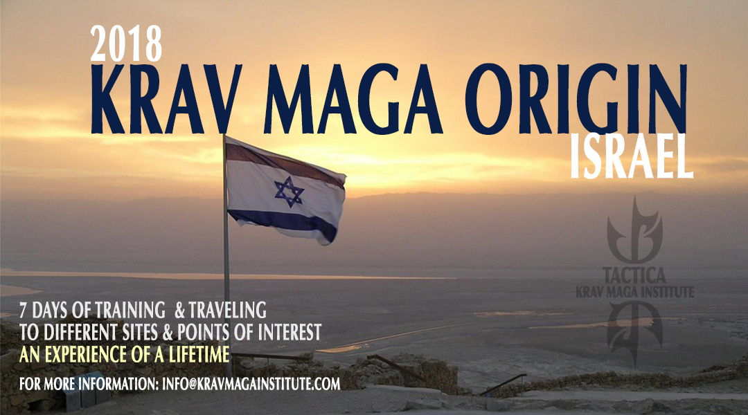Krav Maga Origin: back to Israel