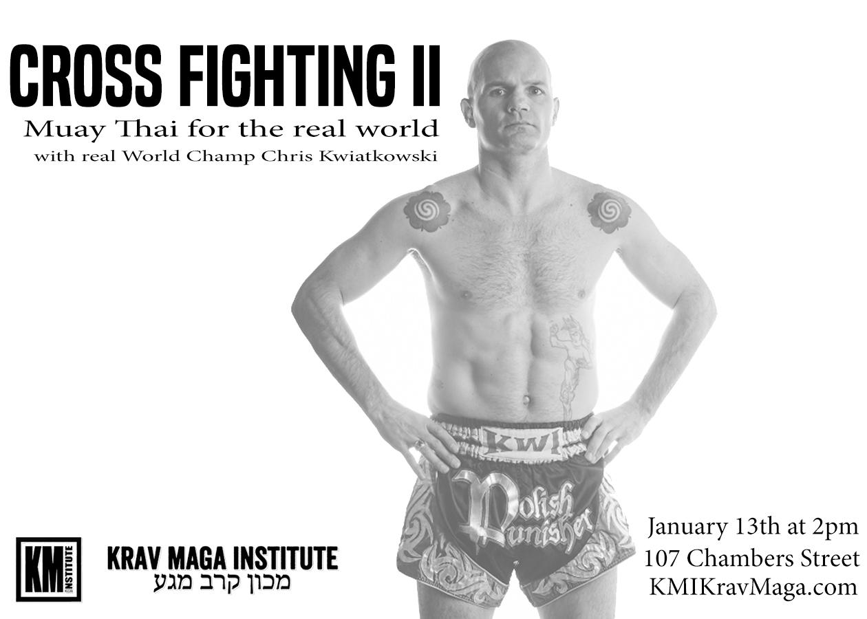 Krav Maga NYC Crossfighting 2